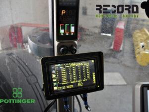 Система контроля высева RECORD на посевной комплексе Pöttinger   (Pettinger)
