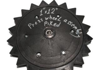 """Прикатывающее колесо 1х12"""" зубчатое-1"""