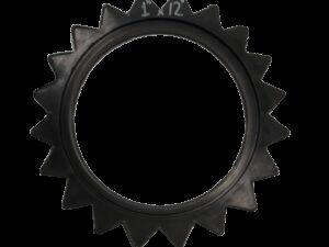 """Бандаж зубчатый прикатывающего колеса 1 """"х12""""-1"""